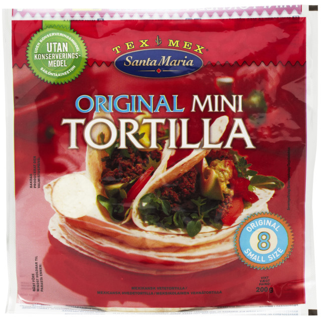 Mini Tortilla 8 St