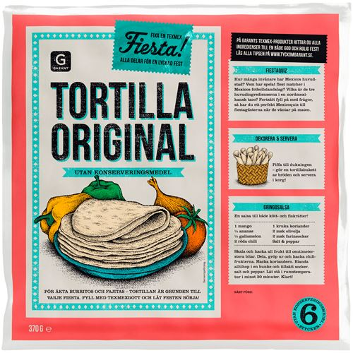 Tortilla Original 6-P