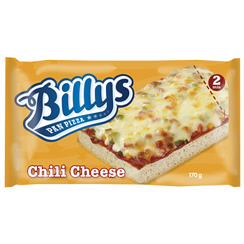 Pan Pizza Chili Cheese  Byllys