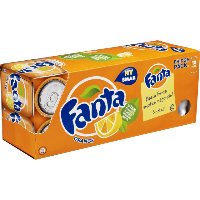 Fanta Funky Orange 10-Pack