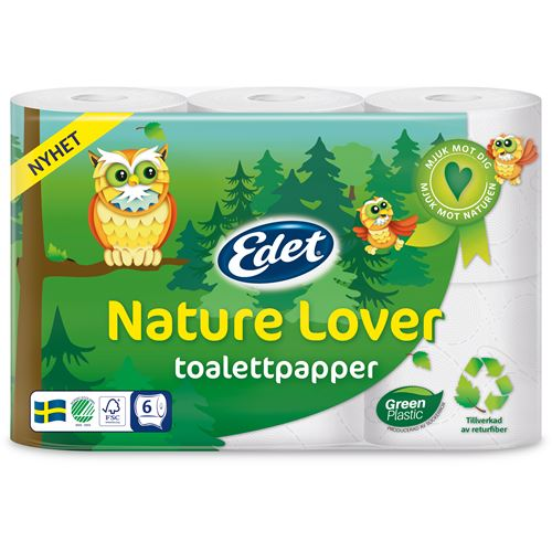 Toalettpapper Nature Love 6-P