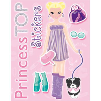 Top Princess Stickers Rosa