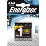 Batterier Max Plus Aaa 4-Pack