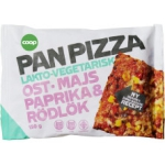 Pan Pizza Vegetarisk