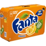Fanta Orange 24-Pack