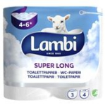 Toalettpapper Super Long 3-Skikt 4-P